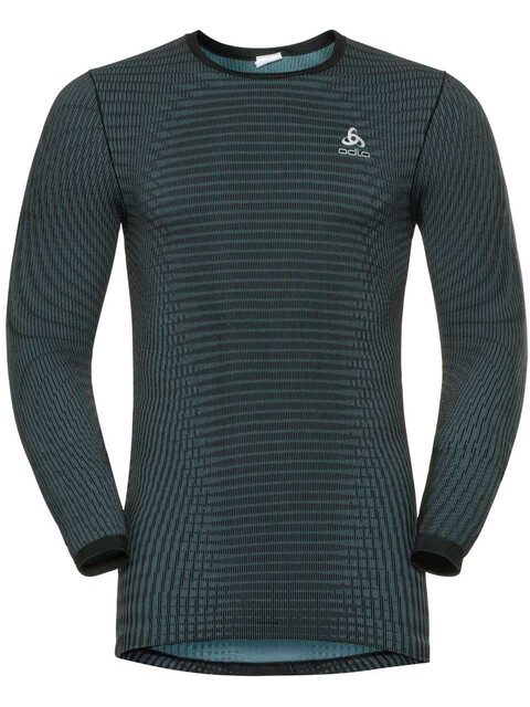 Odlo Suw Futureskin LS Top Crew Neck Men stormy weather-black